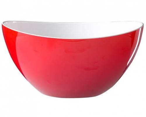 plexiglass bol salade d 26 cm clr rouge plexiglass pierre bois e. Black Bedroom Furniture Sets. Home Design Ideas